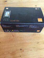 LG KF700 - BLACK TOUCHSCREEN MOBILE SLIDER PHONE