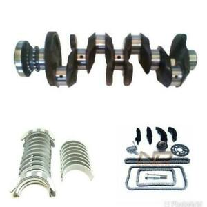 Used Crankshaft, bearings main 0.25, big end 0.25,timing chain for BMW 2.0 d N47