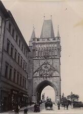 Prague République Tchèque Autriche Vintage citrate snapshot ca 1900