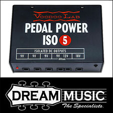 Voodoo Lab Pedal Power ISO 5 Isolated Power Supply RRP$299