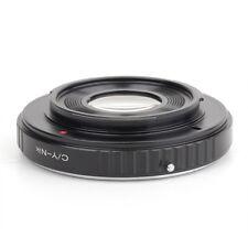 Pixco Contax Yashica CY Lens to Nikon (D)SLR Camera Adapter D7200 D5500 DfD 810A