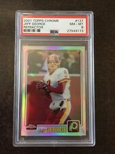 2001 TOPPS CHROME #137 JEFF GEORGE RC REFRACTOR *PSA NM/MT 8 *REDSKINS*KGF-9173