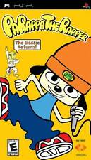 PaRappa: The Rapper - Sunny Funny Music Rythm Mooseilini Rap Masters PSP NEW