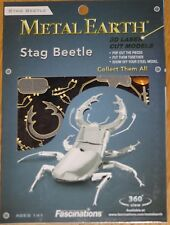 Stag Beetle Metal Earth 3D Laser Cut Metal Model Fascinations Insect MMS071