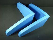 Ikea Mammut Blue Plastic Wall Book Shelf 2 Shelves