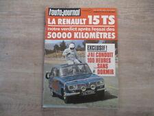 L'AUTO JOURNAL N°9 MAI 1972 LA RENAULT 15 TS