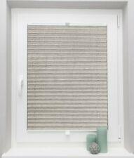 Crushed Plissees Faltrollo auf Maß für alle Fenster Montage im Glasfalz