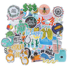 50Pcs Cartoon Waterproof Sticker to Diy Laptop Bicycle Helmet Car DecalO_drDius