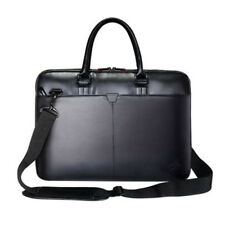 "Leather Thinkpad Laptop Bag Computer Handbag Briefcase For 14"" Netbook Lenovo HP"