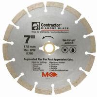 "MK Diamond 167015 Contractor Segmented Rim Diamond Blade, 7"""
