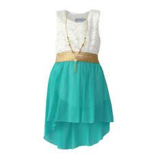 Vêtements verts sans manches pour fille de 3 à 4 ans