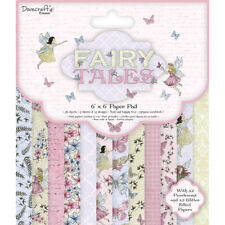 Dovecraft 6x6 - Fairy Tales - 36 sheets Scrapbooking Cardmaking