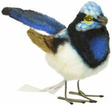 "Hansa Wren Plush Animal Toy, 3"", Blue"
