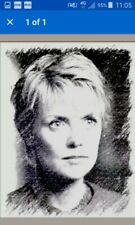 Print from painting Stargate Sg-1 Samantha Carter Original   Sketch Card ACEO