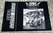 SEGA Game Gear SONIC DRIFT Manual