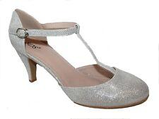 Zapatos de Novia Noche Tacón Varios Colores Brillo Pequeño Tacón E 22352