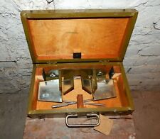 Vintage USSR Military Foldable mirror Stereoscope Viewer Map Reading device 1949