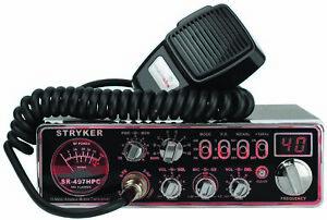 Stryker Sr497Hpc Stryker Sr497Hpc 110 Watt 10 Meter Radio With 7 Color Selectabl
