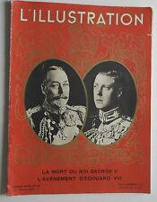 L'illustration 1936 Hors Série - La mort du Roi Georges V  Avénement 'D'Edouard