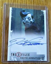X-Files Seasons 10 & 11 Keith Arbuthnot as Mr Chuckleteeth Autographed Card