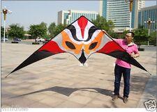 New 3.3M Power stunt kite with flying lines & wirst straps/RTF