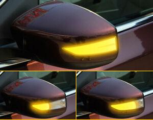 For Nissan Sentra LED Dynamic Turn Signal Light Rear Mirror Indicator 2012-2018
