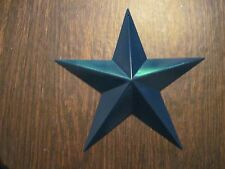 "12"" Royal Blue Barn Star Metal Primitive"