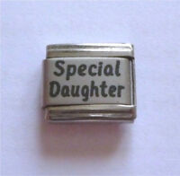 9mm  Italian Charm L39 Special Daughter Fits Classic size Bracelet