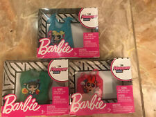 Barbie Powerpuff Girls Clothing Shirts Tops Lot Cartoon Network