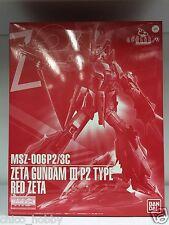 Premium Bandai MG 1/100 MSZ-006P2/3C Zeta Gundam III P2 Type Red Zeta Evolve 9