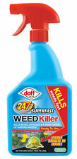 New Doff Fast Acting 24 Hour Superfast Weedkiller 1Ltr Pack Garden Weed Control