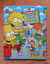 Album Panini The Simpsons Guide De Survie Scolaire / complet / très bon état
