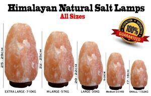 Extra Large Himalayan Salt Lamp Crystal Pink Salt Lamp Healing 100% Genuine UK