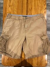 Tommy Hilfiger Brown Cargo Shorts Mens Size 38 In EUC