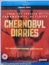 Chernobyl Diaries (Blu-ray, 2012) NEW SEALED Region B PAL