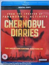 Chernobyl Diaries (Blu-ray, 2012) NEW SEALED Region B PAL