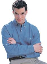 Tri-Mountain Men's 100% Cotton Stonewashed Button Down Best Denim Shirt. 829
