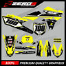 Custom MX Graphics Kit: YAMAHA YZ YZF WR WRF 125 - 450 - RETRO YELLOW