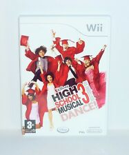 JEU NINTENDO WII COMPLET DISNEY HIGH SCHOOL MUSICAL 3 DANCE REF 69