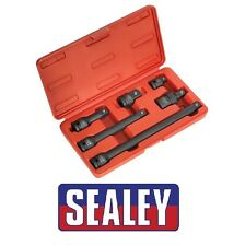Sealey Impacto Adaptador & Extensión Barra Set 6pc 1.3cmsq Drive Ak5514