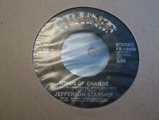 "JEFFERSON STARSHIP "" WINDS OF CHANGE / BLACK WIDOW "" 7"" SINGLE EXCELLENT GRUNT"