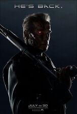 Terminator Genisys (2015) Movie Poster (24x36) - Emilia Clark, J.K. Simmons v1