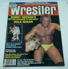 The Wrestler Vintage Magazine January 1987 Hulk Hogan, Bobby Heenan, Warlord