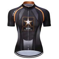 Mens Cycling Jersey Clothing Bicycle Sportswear Short Sleeve Bike Shirt Top XJ78