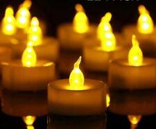Battery Illuminated Candles - Flameless Tea, Votives and Pillar Candles
