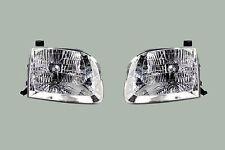 TOYOTA SEQUOIA LH Driver RH Passenger Head Light Lamp combo pair 2001-2004
