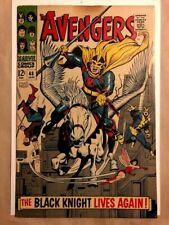 Avengers #48, VG+ 4.5, 1st Appearance Black Knight (The Eternals movie)