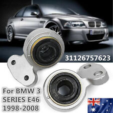 Front Left Right Lower Control Arm Mount Bush Kit For BMW E46 3 Series 1998-2009
