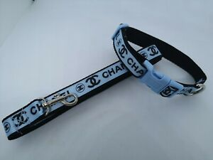 """X SMALL DOG COLLAR + LEAD 6""""-8"""" NECK.  Micro dog, T Cup. CHIHUAHUA, puppy,"""