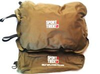 PILLOW SELF INFLATING INCLUDES STUFF SAC 40X30X8CM 220GRAMS - SPORTZTREK